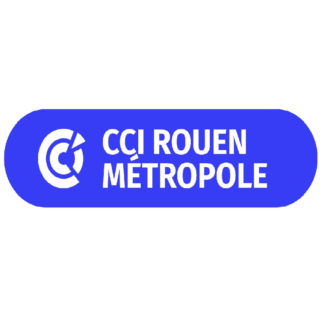 Logo CCI métropole de Rouen